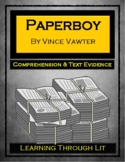 PAPERBOY by Vince Vawter - Novel Study