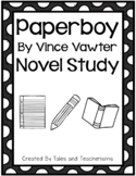 Paperboy by Vince Vawter Novel Study