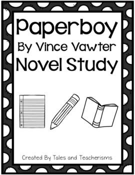 Paperboy by Vince Vawter Novel Study