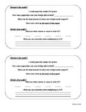 Paperclip Bridge Challenge Math Extension