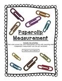 Paperclip Measurement with a Line Plot