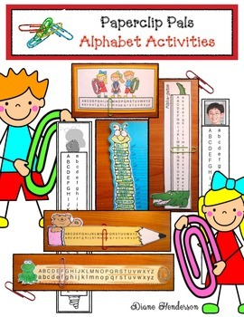 Paperclip Pals Alphabet Activities