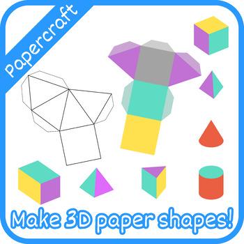 Papercraft: 3D Shapes