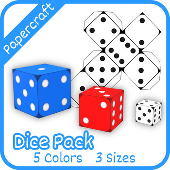 Papercraft: Dice Pack