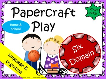 Home and School Play - Picture Book, Activities, Settings and Figures.