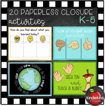 Paperless Closure Activities