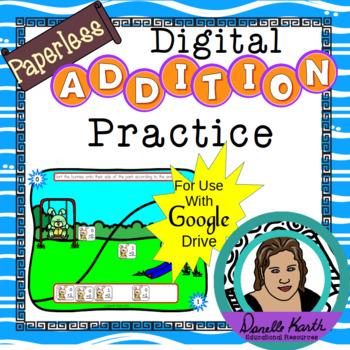 Paperless - Digital Alphabet Practice Activity 1