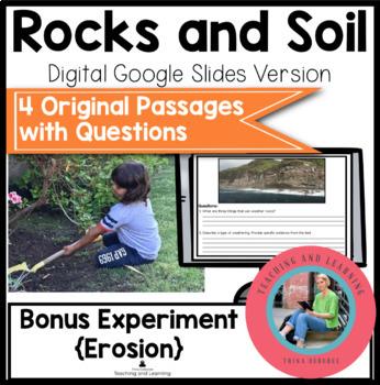 Rocks and Soil {Google Slides}: Paperless Digital Science Reading Comprehension