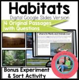Habitats Using Google Slides: Paperless Digital Science Re