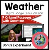 Weather Using Google Slides: Paperless Digital Science Rea