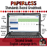 Paperless Digital Standards Based Gradebook - 2nd Grade ELA