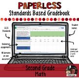 Paperless Digital Standards Based Gradebook - 2nd Grade Math