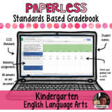 Paperless Digital Standards Based Gradebook - Kindergarten ELA