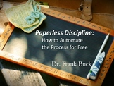 Paperless Discipline: How to Automate the Process for Free