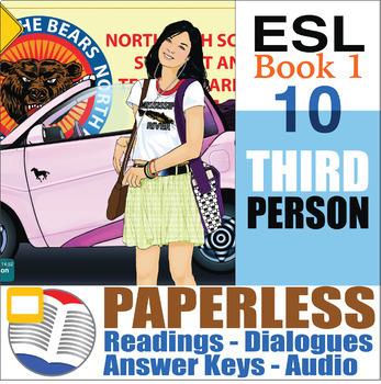 Paperless ESL Readings & Exercises Book 1-10