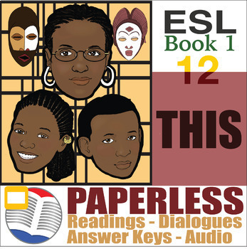 Paperless ESL Readings & Exercises Book 1-12