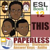 Paperless ESL Readings & Exercises Book 1-12