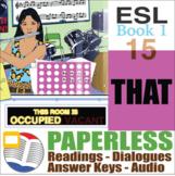 Paperless ESL Readings & Exercises Book 1-15