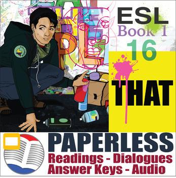 Paperless ESL Readings & Exercises Book 1-16