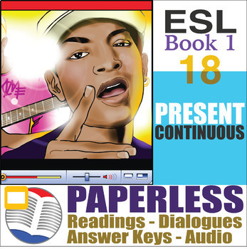 Paperless ESL Readings & Exercises Book 1-18