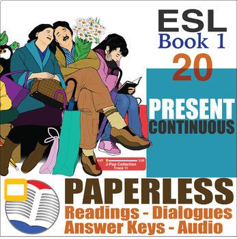 Paperless ESL Readings & Exercises Book 1-20