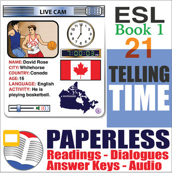 Paperless ESL Readings & Exercises Book 1-21