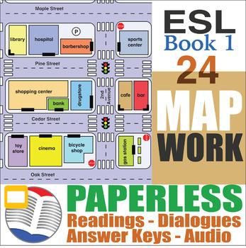 Paperless ESL Readings & Exercises Book 1-24
