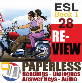 Paperless ESL Readings & Exercises Book 1-28