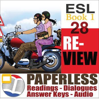 Paperless ESL Readings & Exercises Book 1-28