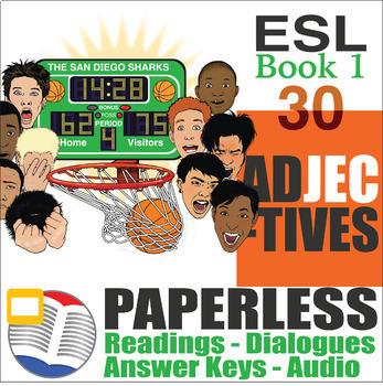 Paperless ESL Readings & Exercises Book 1-30