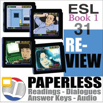 Paperless ESL Readings & Exercises Book 1-31