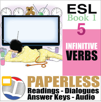 Paperless ESL Readings & Exercises Book 1-5