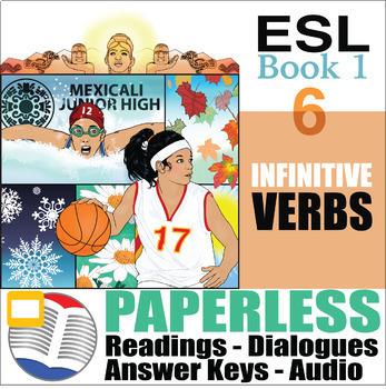 Paperless ESL Readings & Exercises Book 1-6