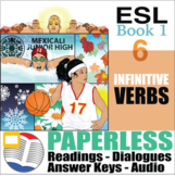 Paperless ESL Readings & Exercises Book 1-6