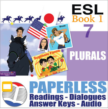Paperless ESL Readings & Exercises Book 1-7