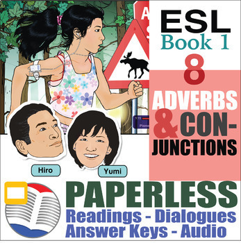 Paperless ESL Readings & Exercises Book 1-8
