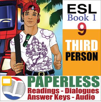 Paperless ESL Readings & Exercises Book 1-9