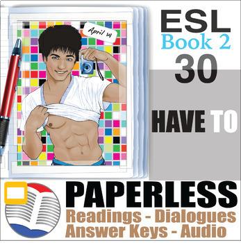 Paperless ESL Readings & Exercises Book 2-30