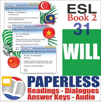 Paperless ESL Readings & Exercises Book 2-31