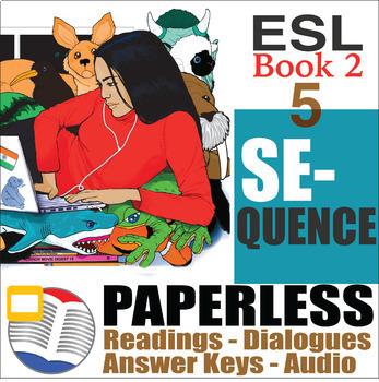 Paperless ESL Readings & Exercises Book 2-5