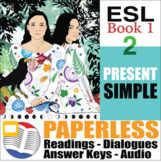 Paperless ESL Readings and Exercises Book 1-2
