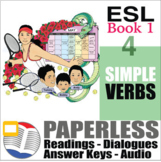 Paperless ESL Readings and Exercises Book 1-4