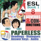 Paperless ESL Readings and Exercises Book 1-8