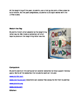 Paperless Literacy Center Lesson Plans