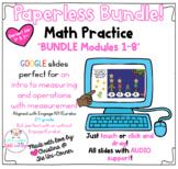 Paperless Math BUNDLE | Google Slides | Eureka Engage NY