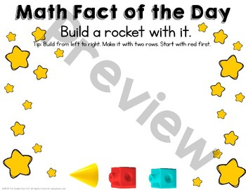 Paperless Math Fact of the Day - All Year Number Talks for Addition Facts