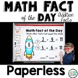Paperless Math Fact of the Day - All Year Number Talks for