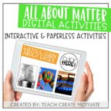 Digital Matter Activities | for Google Slides™