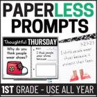 Paperless Morning Work Bundle {Whiteboard Edition & EDITABLE}