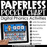 Google Classroom Activities Phonics BUNDLE (Digital Phonics)